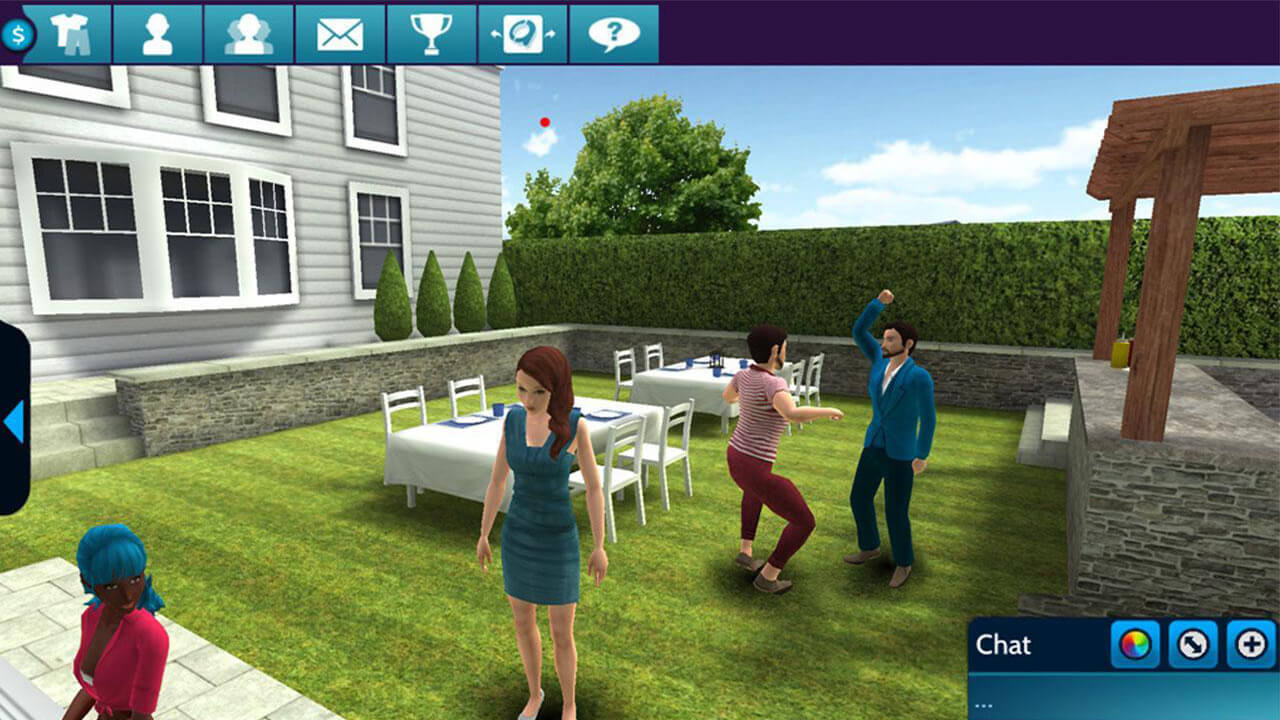 avakin life 3d virtual world party