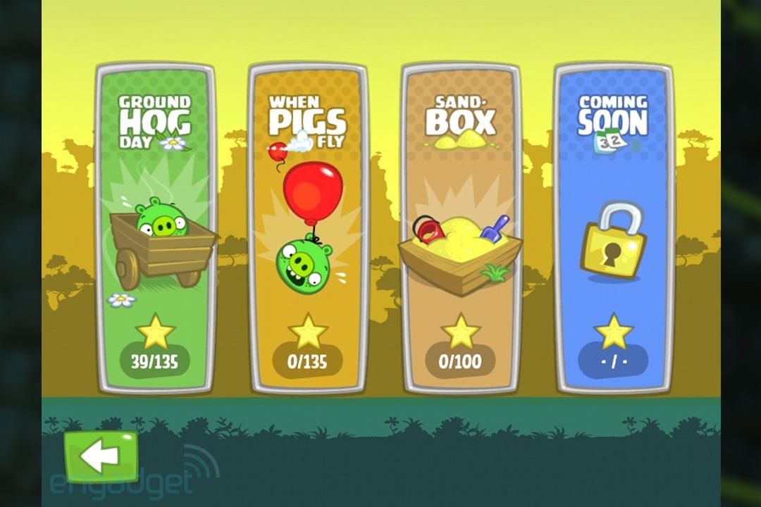 bad piggies game option