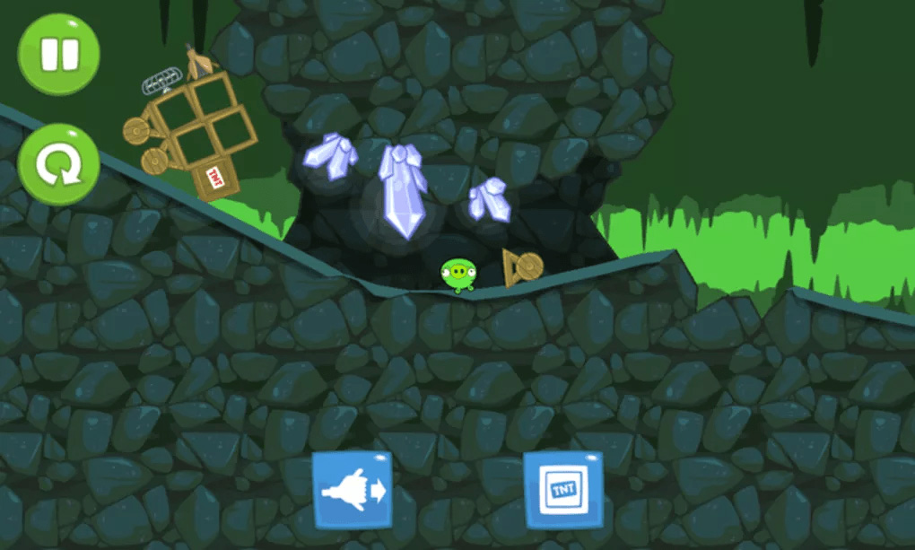 bad piggies underground gems