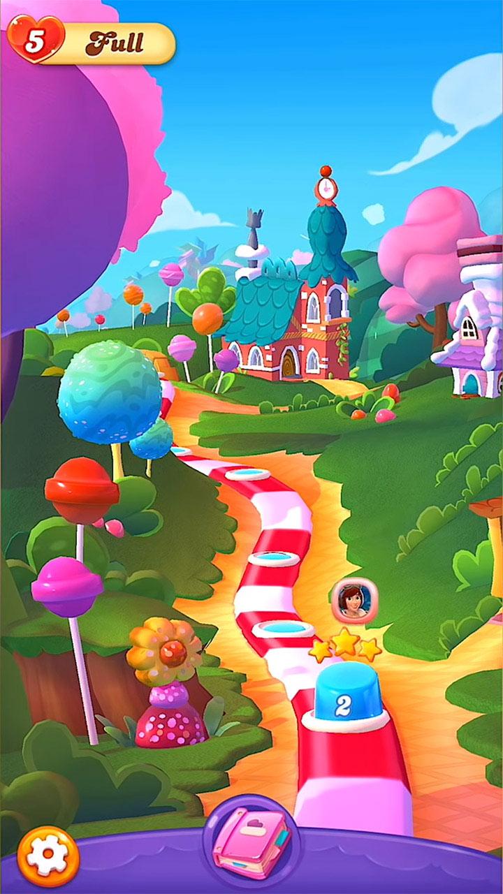 Candy Crush Friends Saga Start Level 2