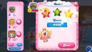 Candy Crush Saga Level Score