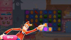 candy crush saga mr toffee skip tips