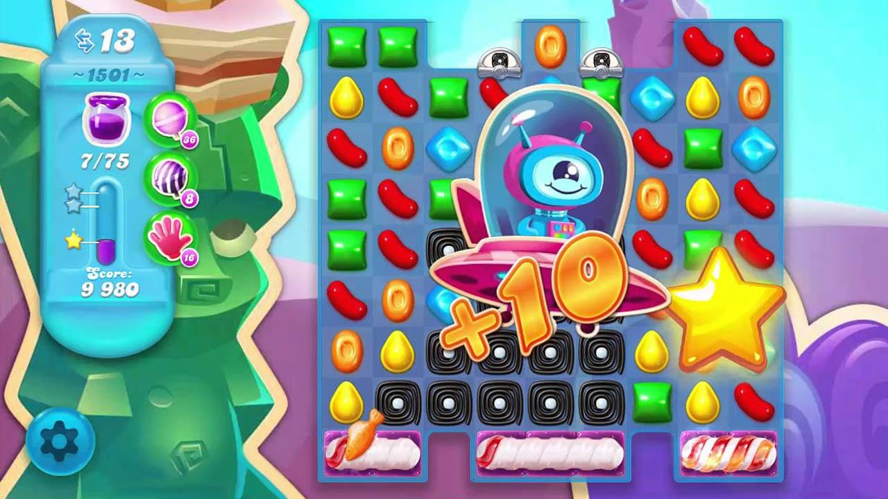 candy crush soda saga alien bonus