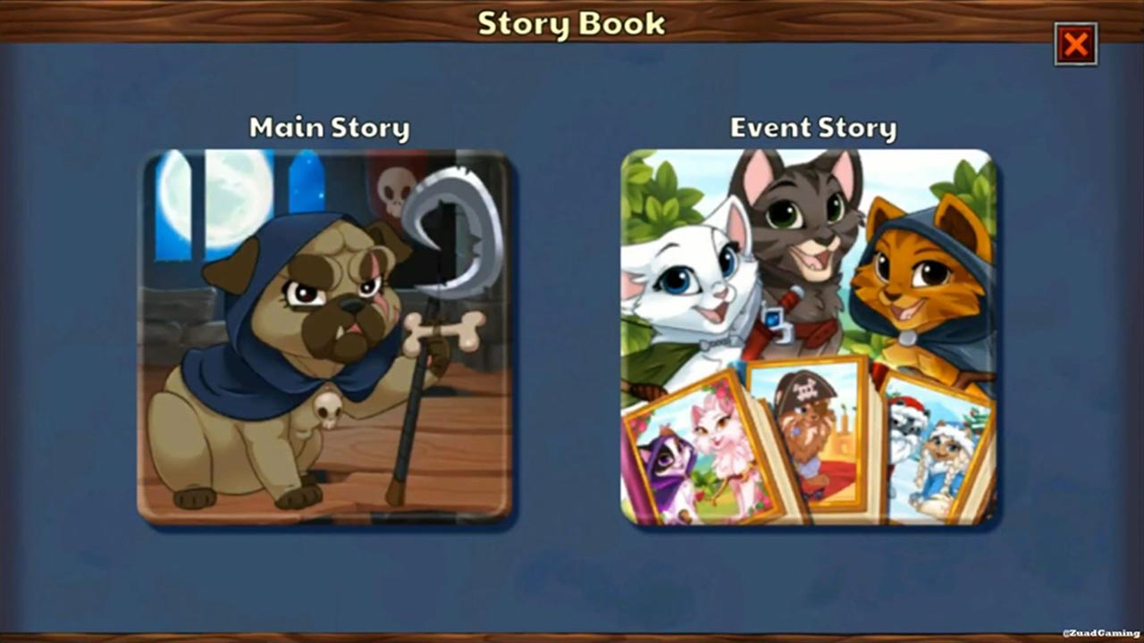castle cats story book selection