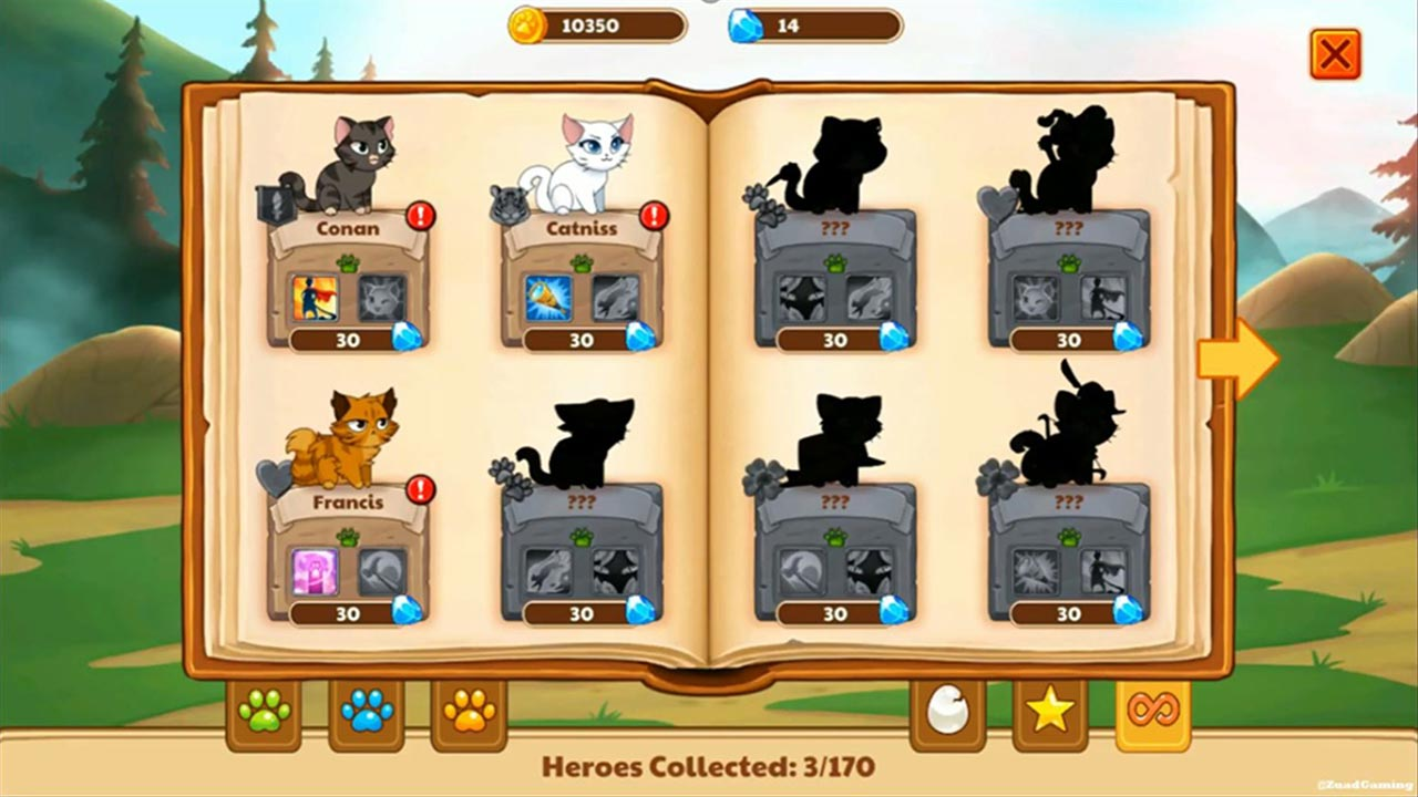 castle cats three cat heroes collected