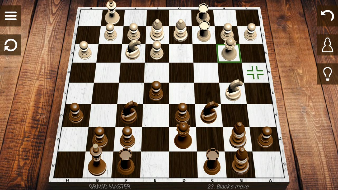 chess whites queen strategy