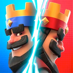 clash royale two kings versus
