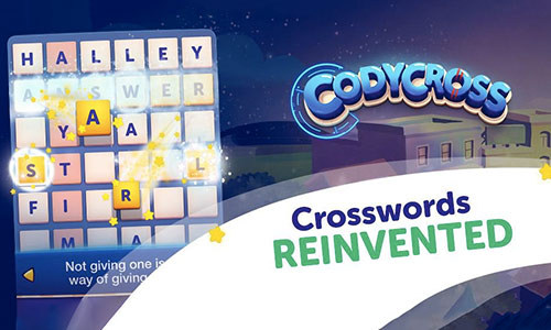 codycross crossword puzzle glowing letters tiles