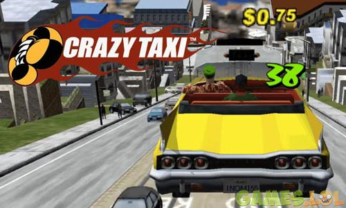crazy taxi classic flying taxi