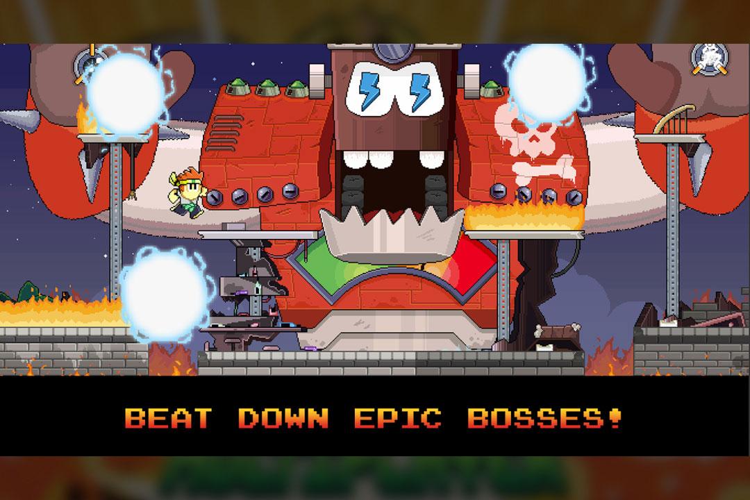 dantheman epic boss fight