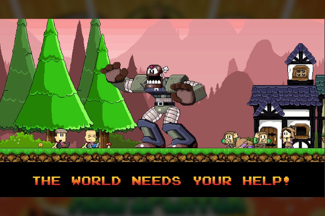 dantheman big robot fight