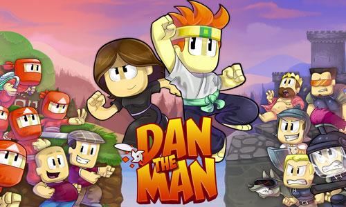 Play Dan The Man Action Platformer on PC