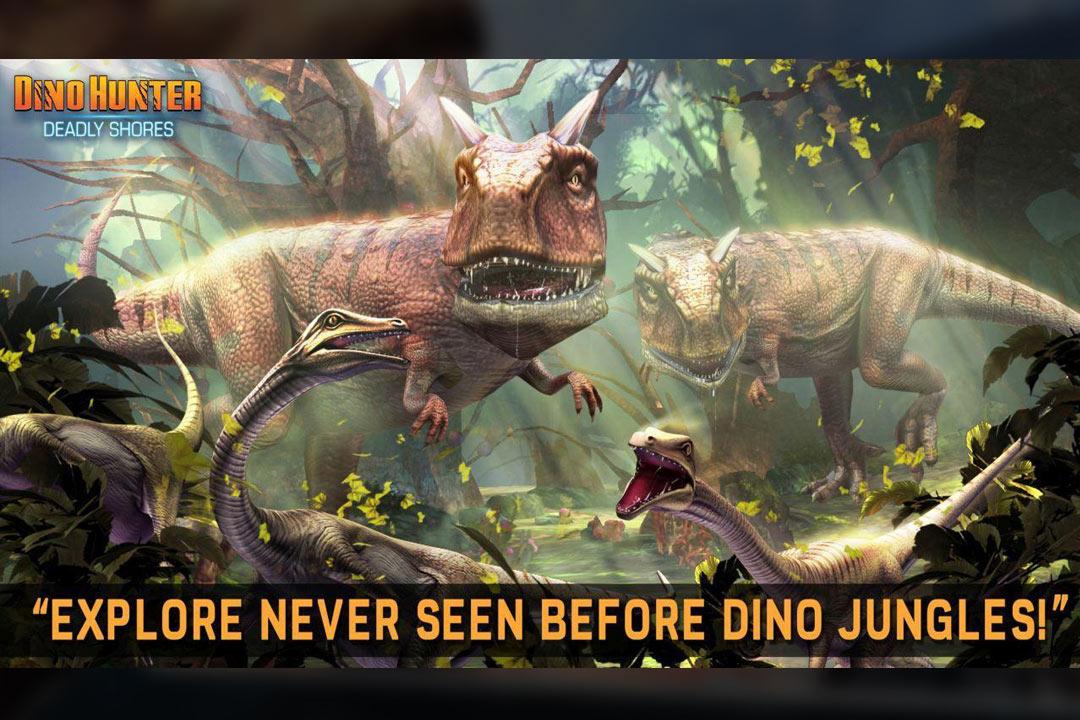 Dino Hunter trex food festival