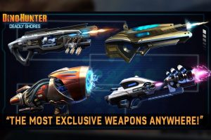 Dino Hunter Weapons for massive lizards