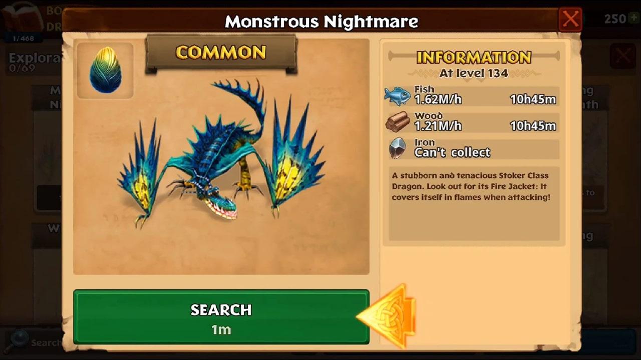 Dragons Rise of Berk Monstrous