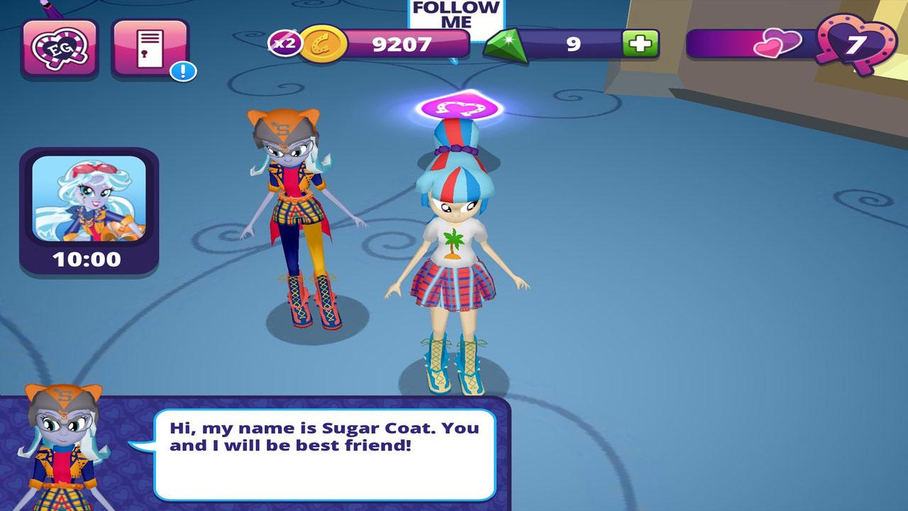 Esquestria Girls Sugar Coat