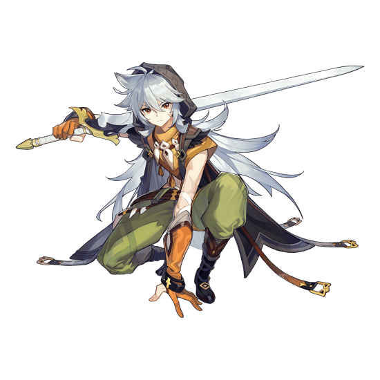 Genshin Impact Razor Wolf Boy