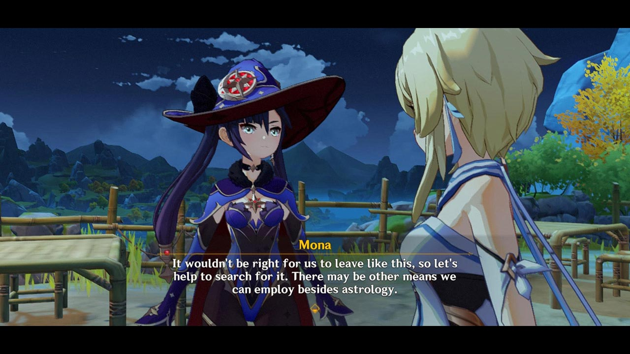 Genshin Impact Mona Quest
