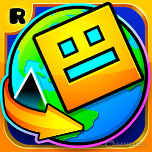 Download and Play Geometry Dash World on Games.lol