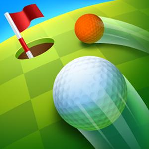 golf battle ball approaching goal