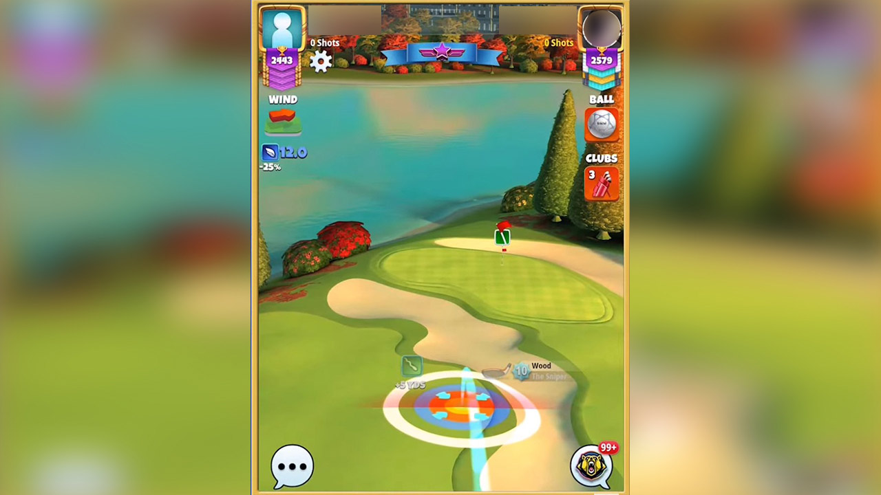 golf clash duel nice shot