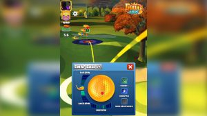 golf clash golden shot swap ball