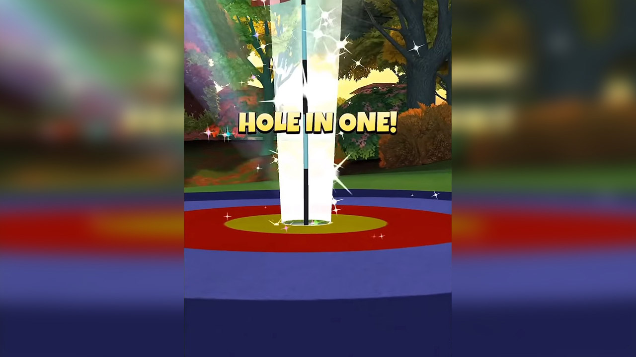golfclash hole in one winning goal