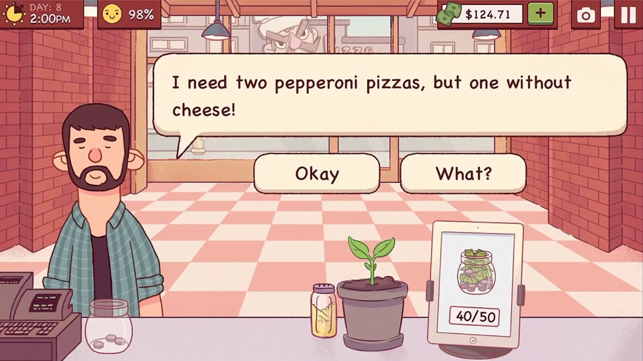 Good Pizza Costumer Request
