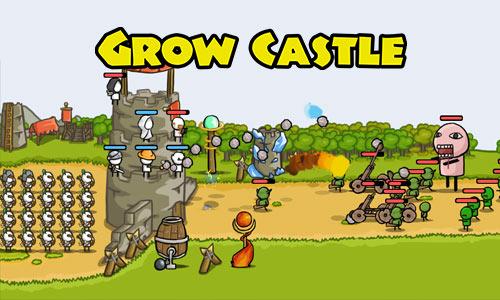 Grow Castle Defend Base