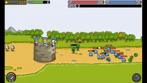 Grow Castle Wave Of Enemy Attack