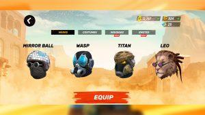 Guns of Boom Online Shooter Mask