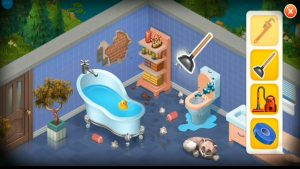 Homescapes Toilet Damp Clutter