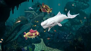 Hungry Shark Evolution Attack Submarine