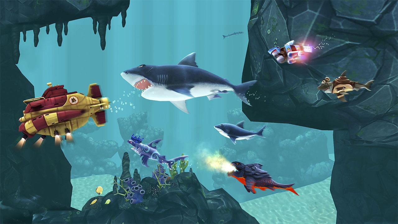 Hungry Shark Evolution Chase Submarine