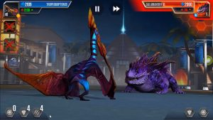 Jurassic World The Game Battle