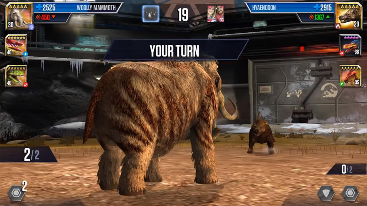 JUrassic World The Game Turn