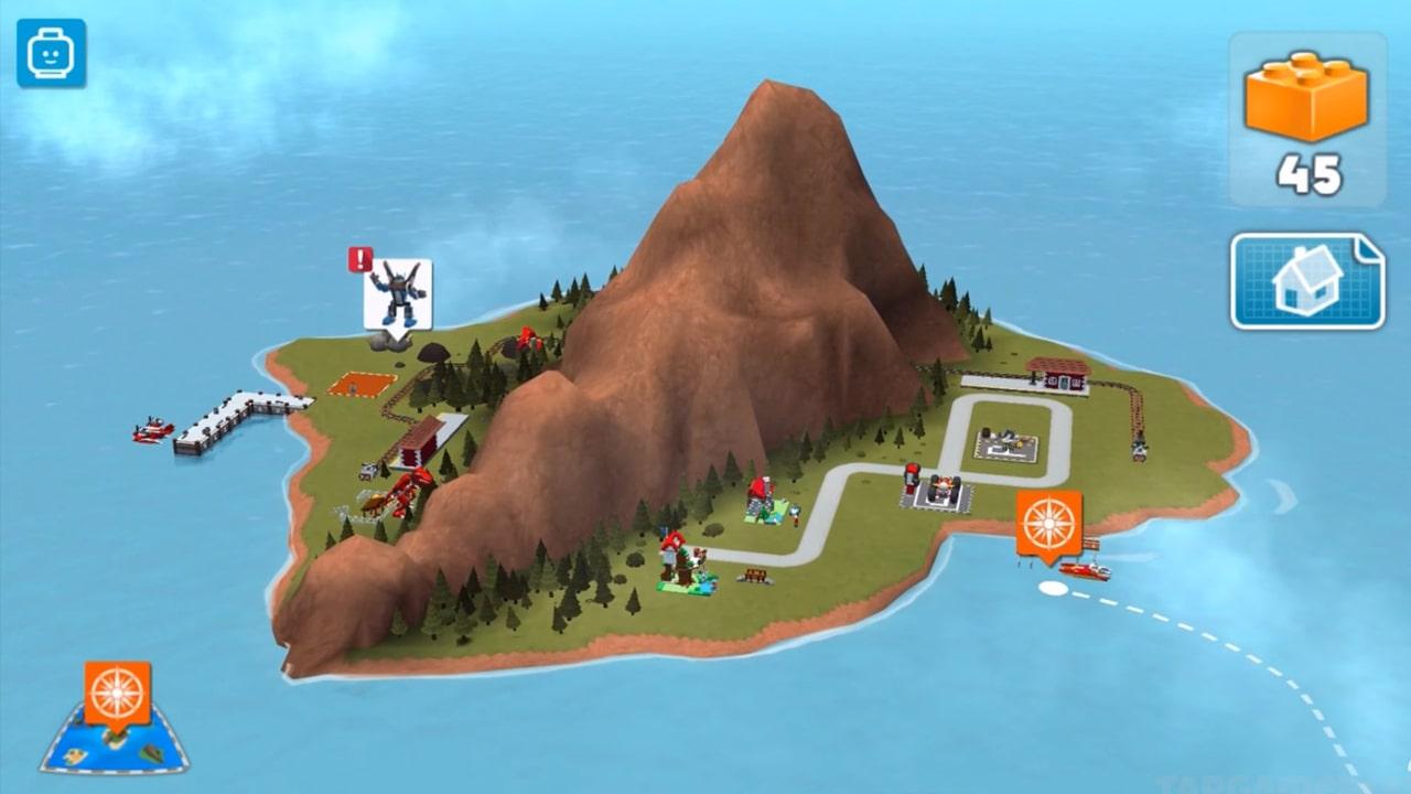 Lego Creator Islands Mountain