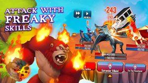 Monster Legends Freaky Skills