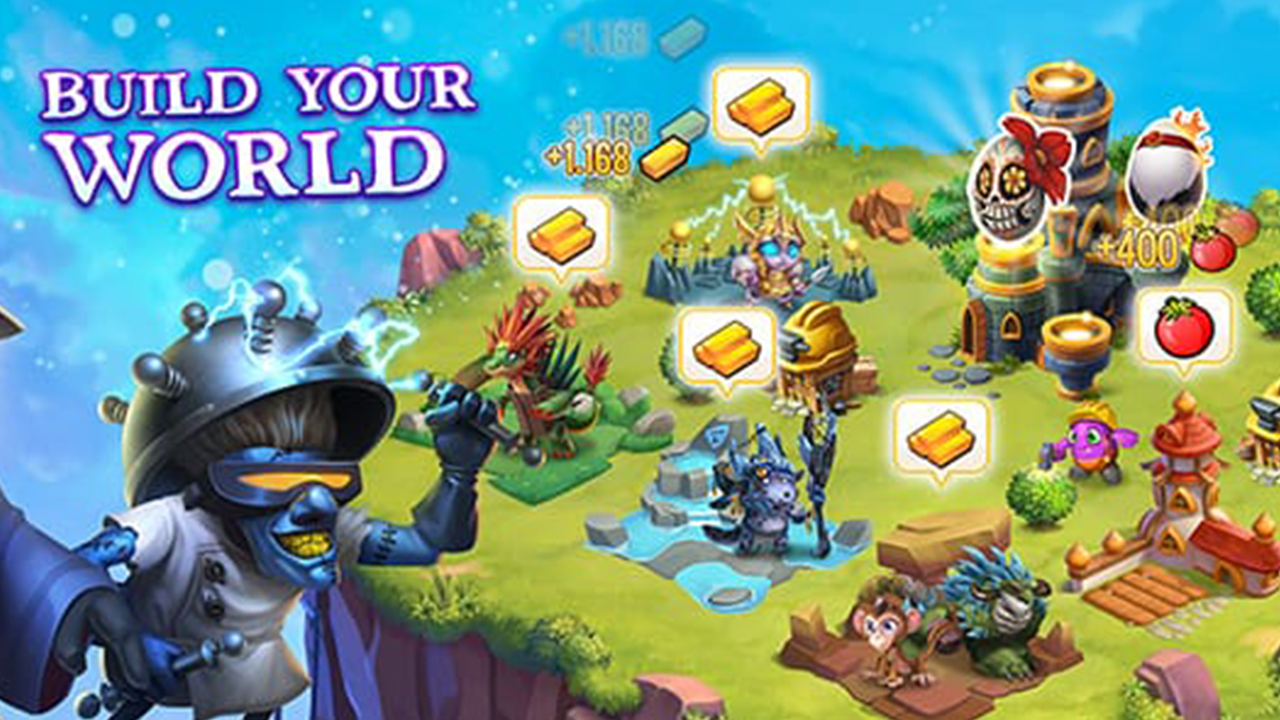 Monster Legends Build Your World