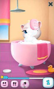 My Talking Angela Bath Time