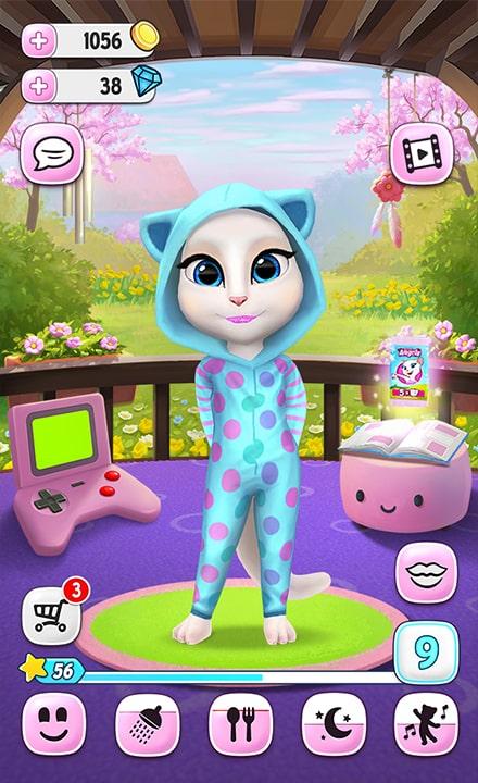 My Talking Angela Pajamas