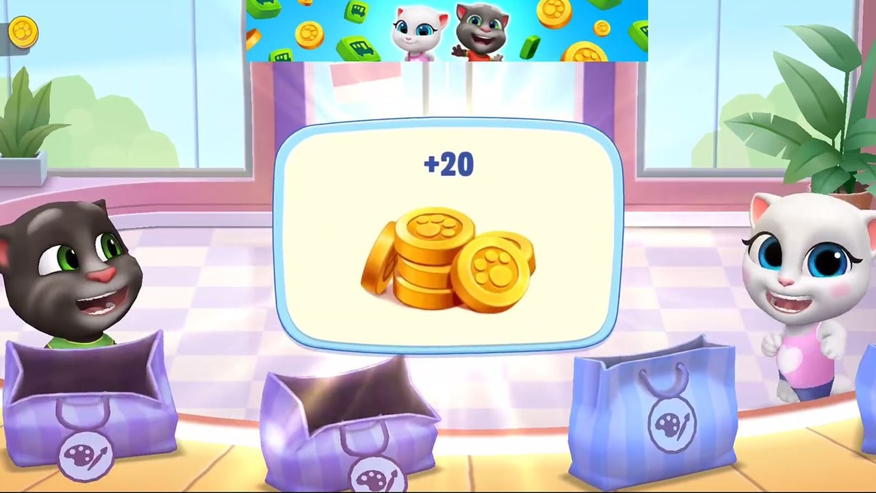 My Talking Tom Shop Coins