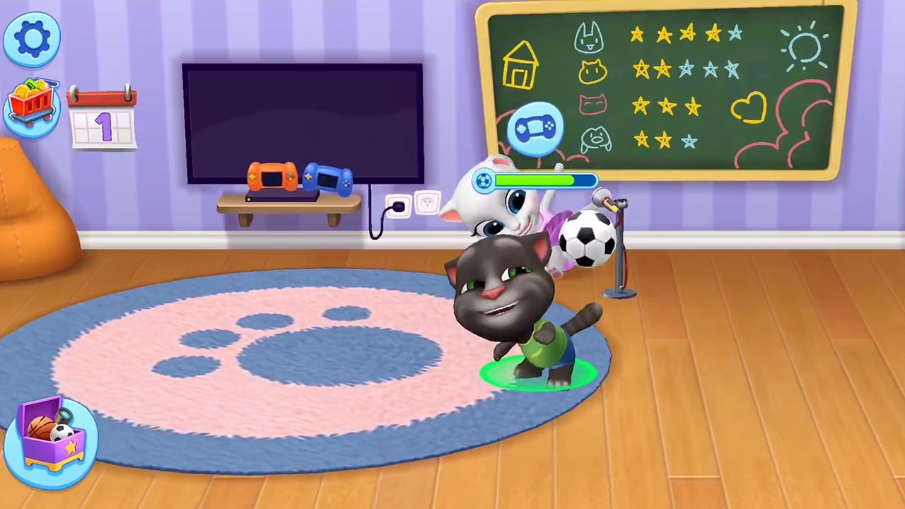 My Talking Tom Soccer Play