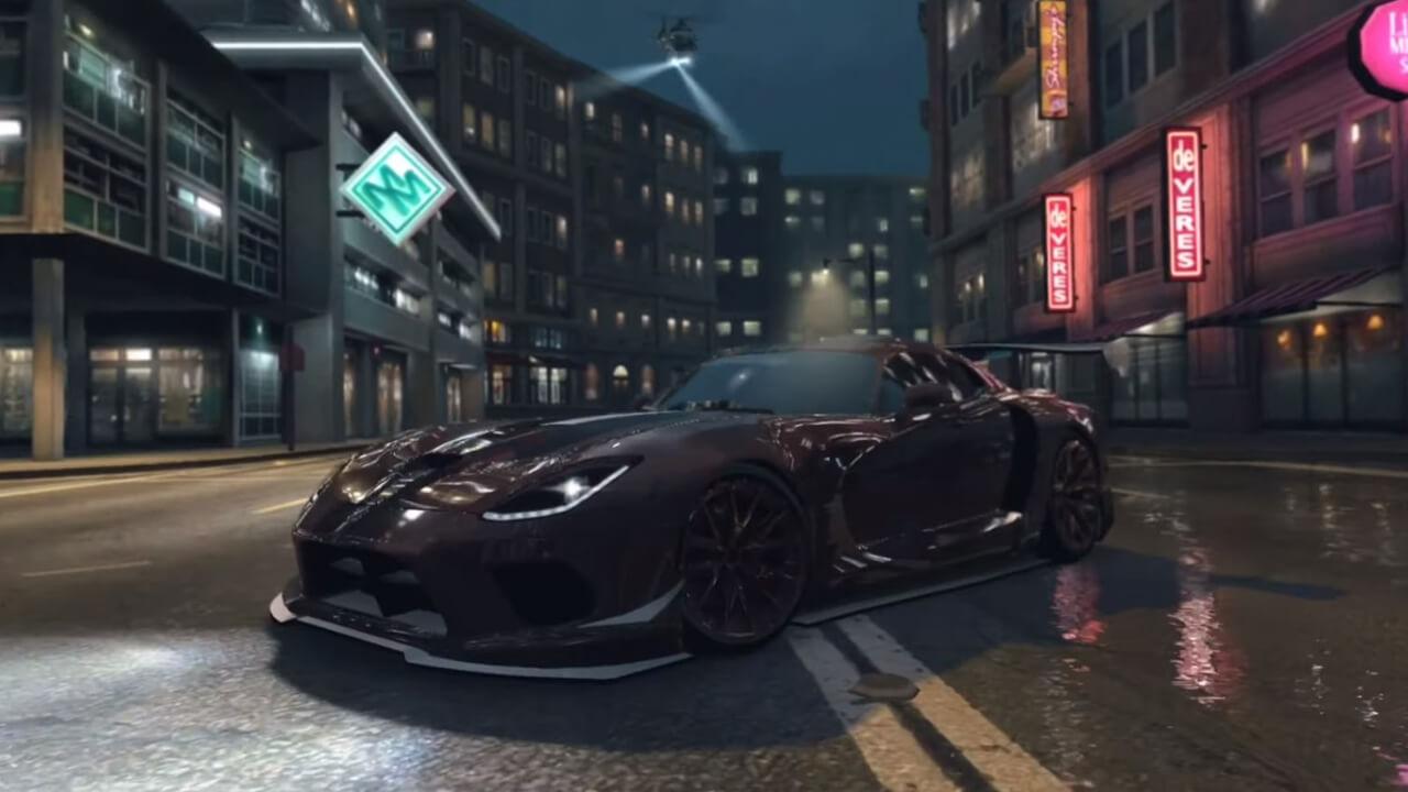 Need for Speed Black McLaren