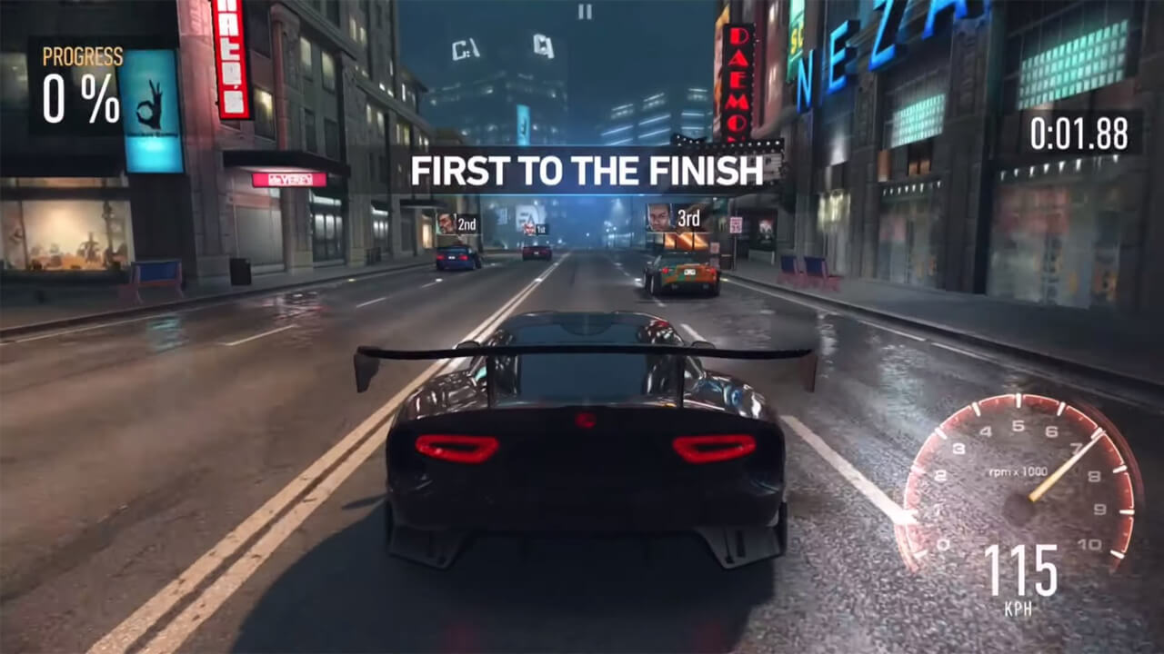 Need for Speed First Finish