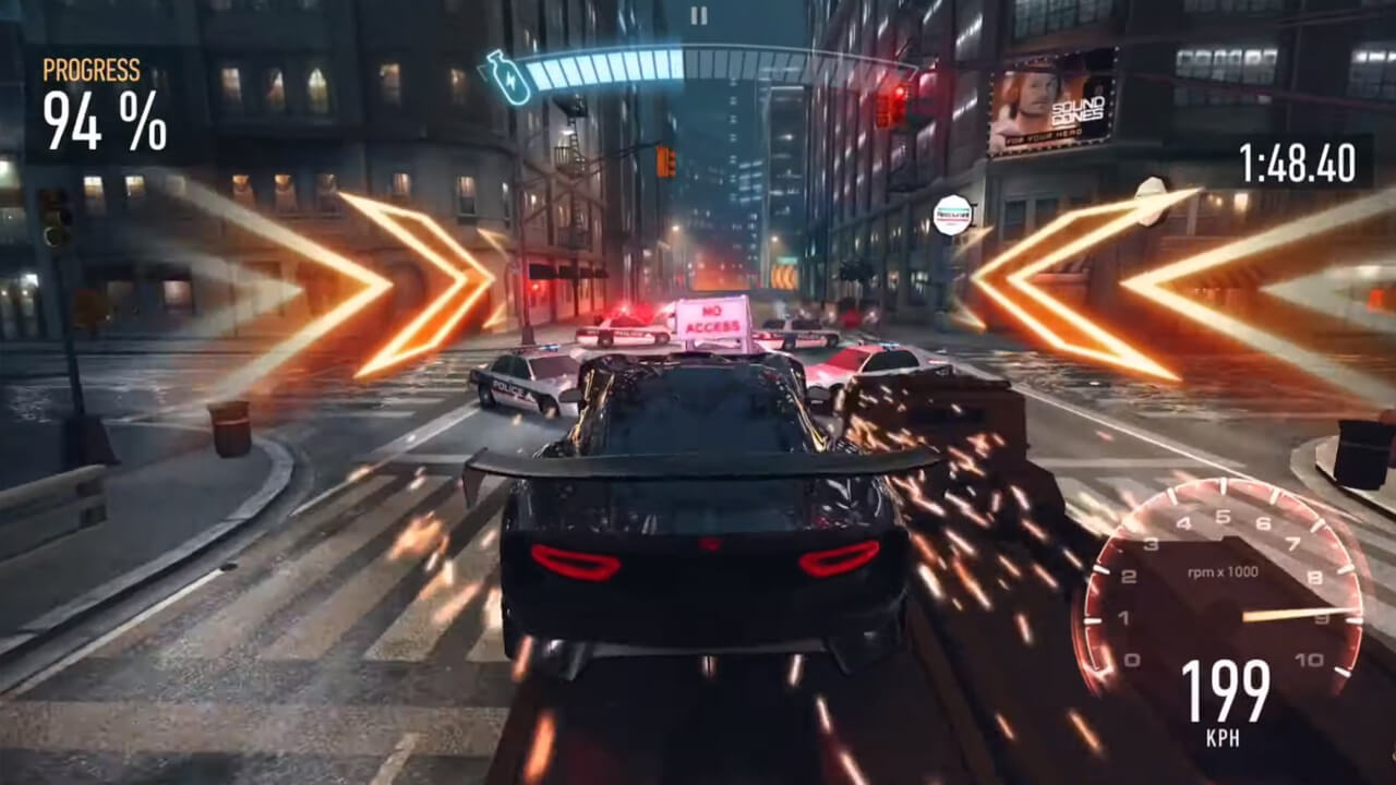 Need for Speed Car Crash