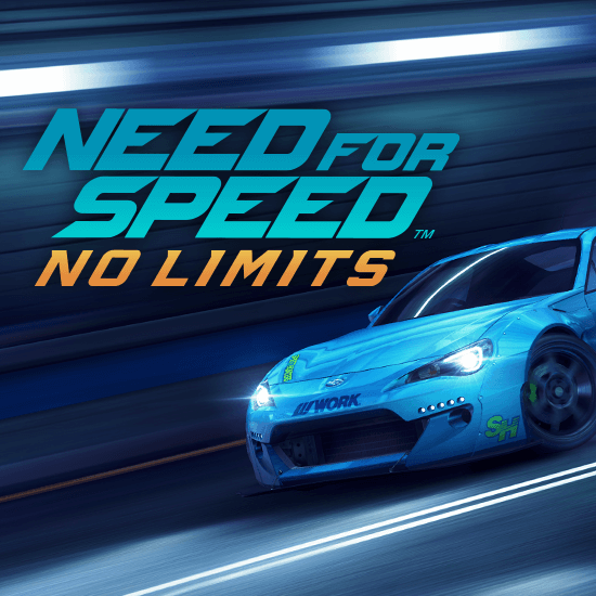 Need for Speed No Limits Blue Car