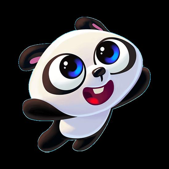 Panda Pop Flying Baby Panda