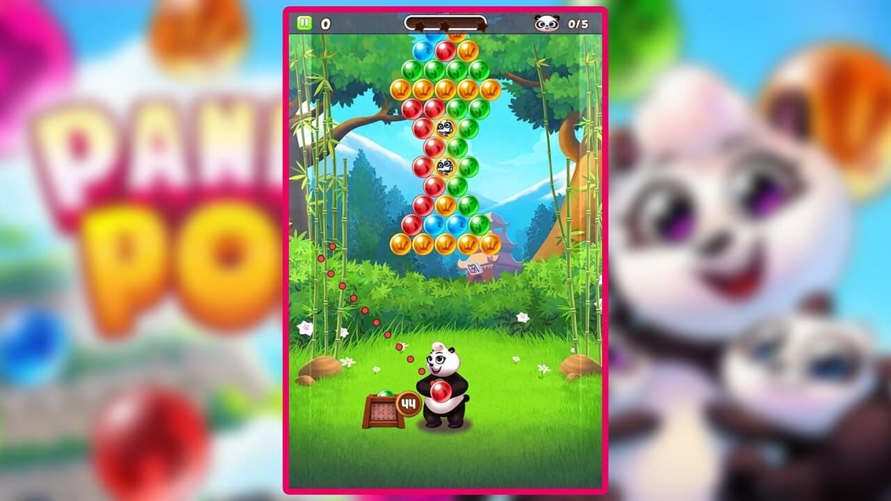 Panda Pop Side Shooting
