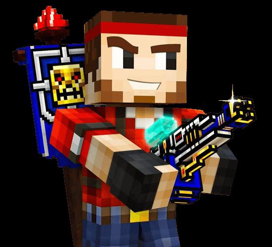 Pixel Gun 3D Main Character